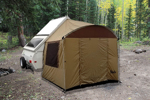 A Frame Side Trailer Tent