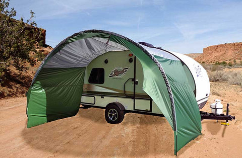 R-Pod Side Awning to Teardrop Trailer