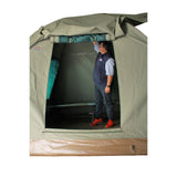 BushTec Adventure Dome Tent Awning Rolled Up