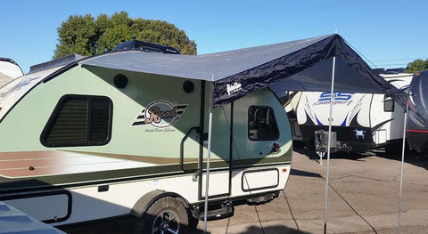 R POD Trailer Canopy Side View