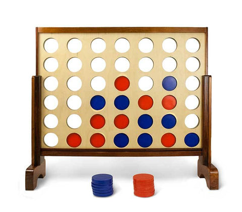 Giant Connect 4 in a Row Yard Game