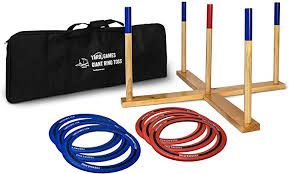 Giant Ring Toss Game with Carry Case