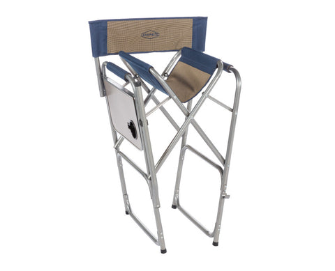 Kamp Rite High Back Director S Chair With Side Table
