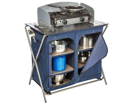 Kamp Rite Pantry with Cook top
