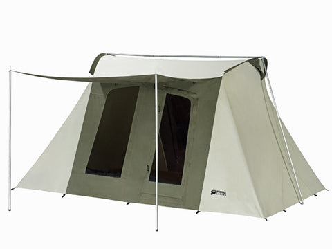 Kodiak Flexbow Canvas Tent 10x14 Deluxe - Front