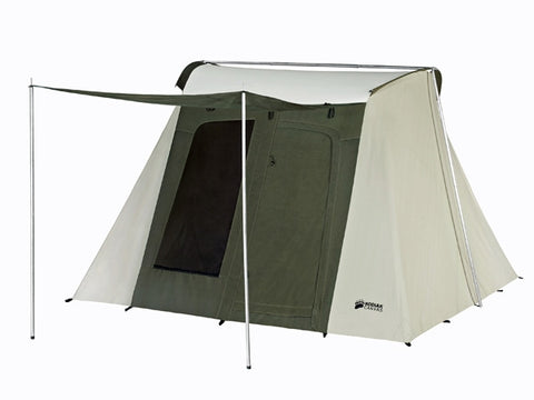 Kodiak Flexbow Canvas Tent 10x10 Basic - Front