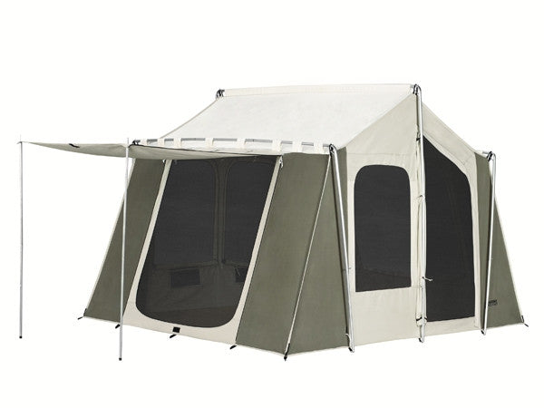 Kodiak canvas cabin tent 6 person 12 x 9 family tent camping for What is a tent cabin