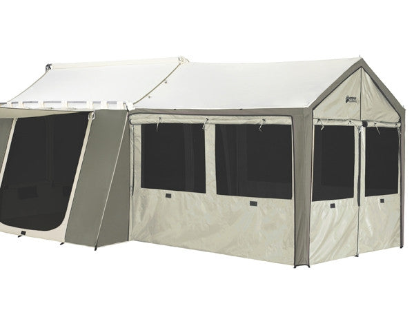 Kodiak 0650 Canvas Wall Enclosure For 12x9 Deluxe Awning