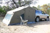 Oztent RV 2-5 Deluxe Peaked Side Panels  - with truck