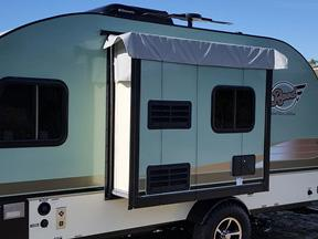 R-POD Teardrop Trailer Slideout Wall Cover - RPSOC
