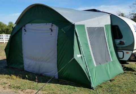 R Pod Side Tent With Front Panel Attached