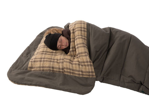 Kodiak Z Top Sleeping Bag - Regular Size with Pillow