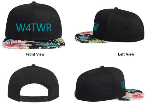 W4TWR Floral Hat, Great Summer Hat!