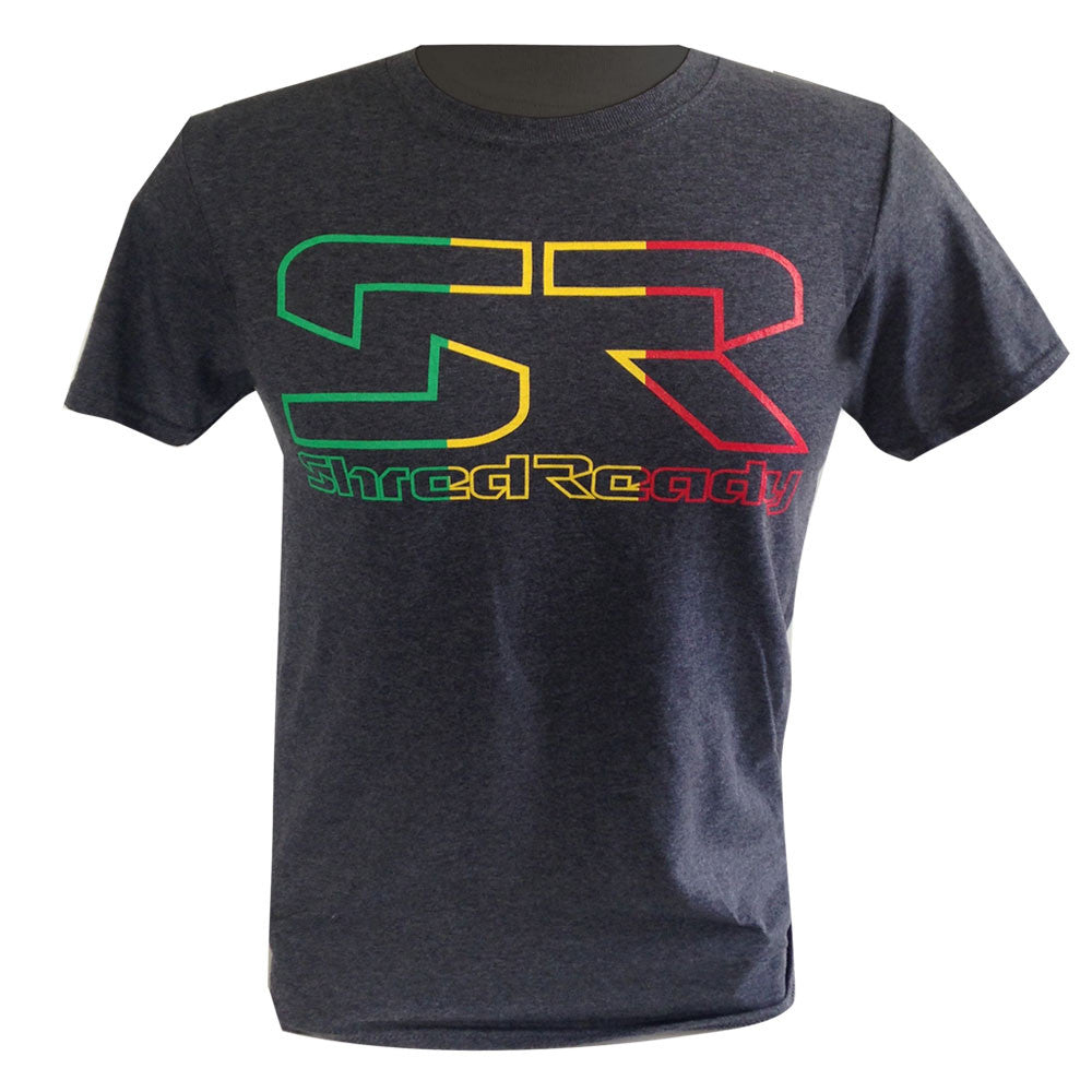 Shred Ready Rasta T Shirt - Shred Ready USA
