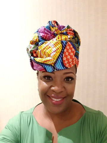 "African Head wrap ""Mama Africa"" Chic"
