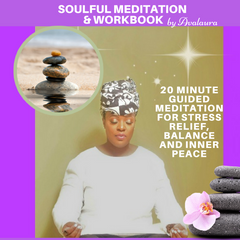 Soulful Guided Meditation & Workbook