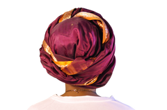 "Head Wrap ""India"" Couture"