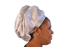 "African Head wrap ""Marry Me"" Couture"