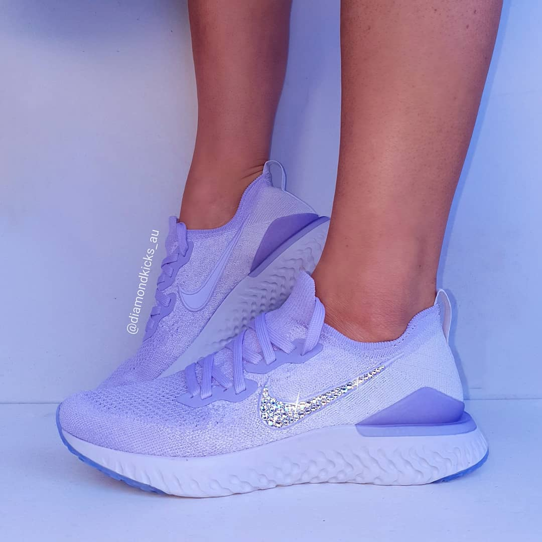 104b32fee6486 Swarovski Nike Custom Designed Diamond Shoes