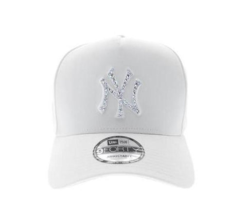 New York Yankees 940 A-Frame Snapback (White)