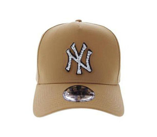 New York Yankees 940 A-Frame Snapback (Wheat)