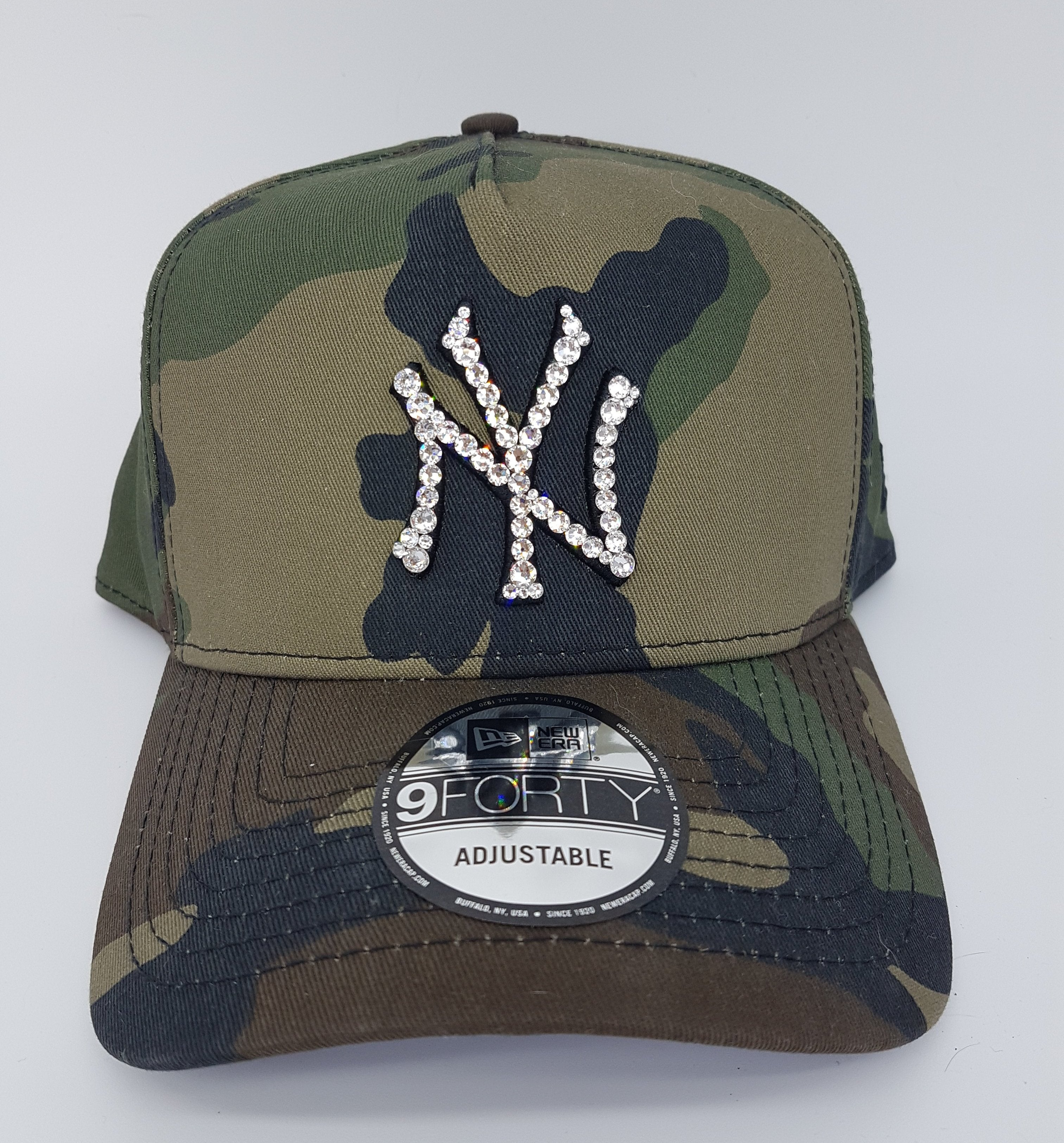 New York Yankees 940 A-Frame Snapback (Army) – Diamond Kicks