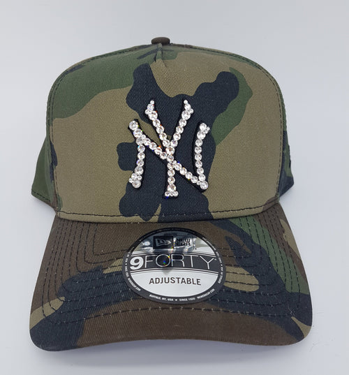 New York Yankees 940 A-Frame Snapback (Army)