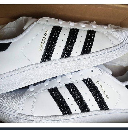 Adidas Superstar Older Kids (White/Black)