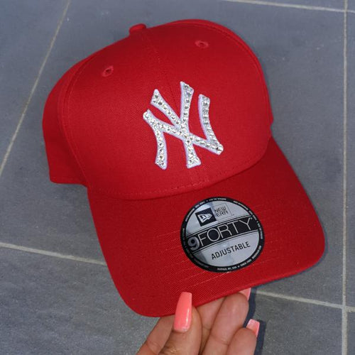 Women's New Era NY Yankees Strapback (Red)