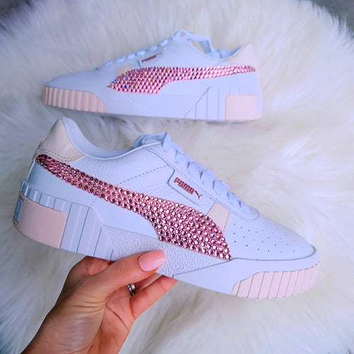 Puma Women Cali (White/Light Pink)