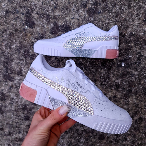 Puma Younger Cali (White/Pink)