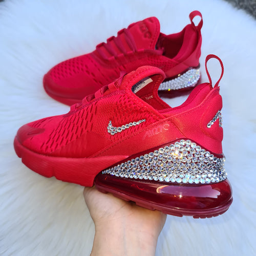 LIMITED Nike Older Kids/Women Air Max 270 (Red)