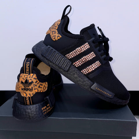 Adidas Women's NMD R1 (Black/Gold)
