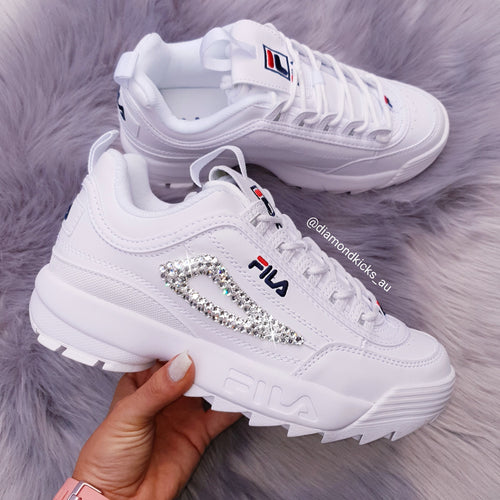 Fila Women Disruptor II (White)