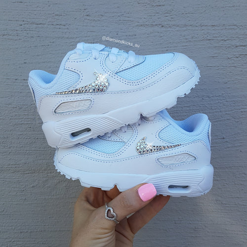 Nike Toddler Air Max 90 (White)