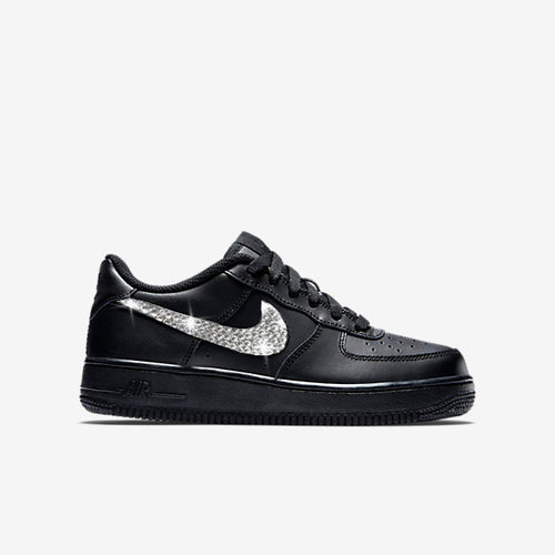 Nike Younger Kids Air Force 1 (Black) SALE