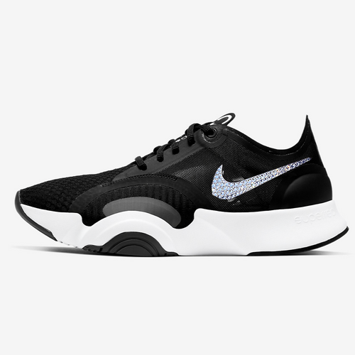 Nike Women SuperRep GO Training Shoe (Black/White)