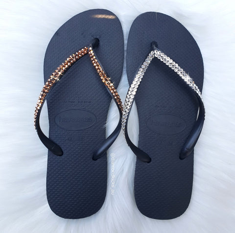 Women's Havaianas Slim (Rose Gold)