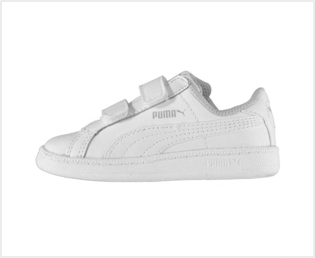 Puma Toddler Smash Classic (White)