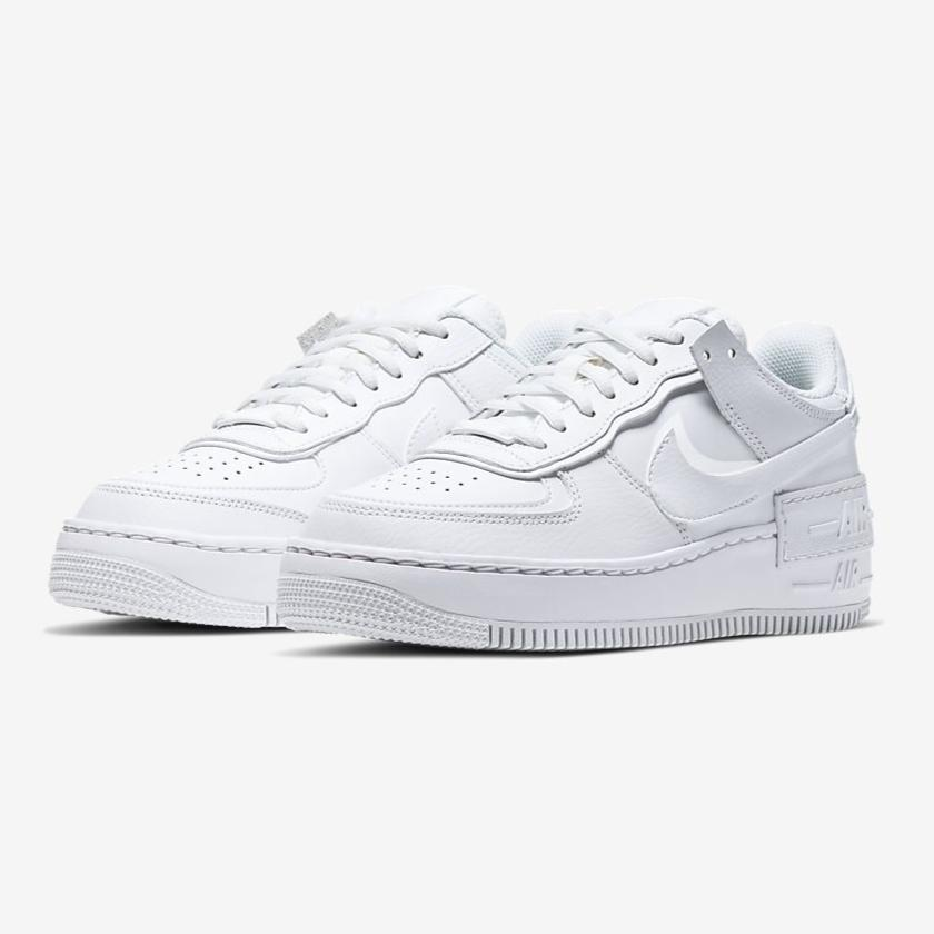 Nike Women Air Force 1 Shadow (White)