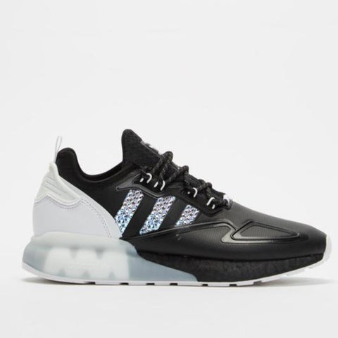Adidas Women's NMD R1 (Black/Silver Shimmer)