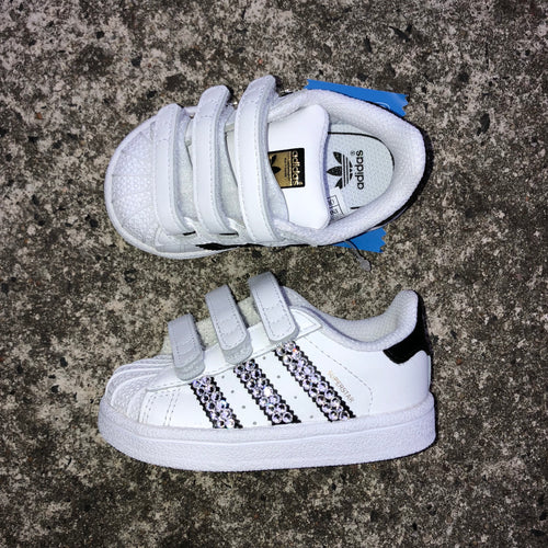 Adidas Superstar Toddler (White/Black)