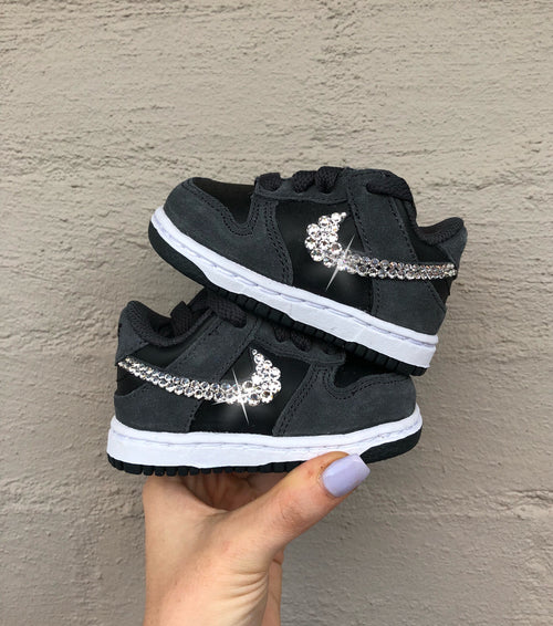 Nike Toddler Dunk (Black/Grey) SALE