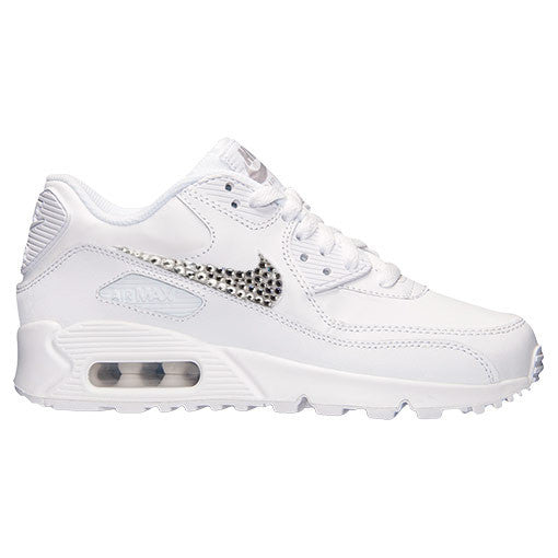 6612ed721c Nike Younger Kids Air Max 90 (White) – Diamond Kicks