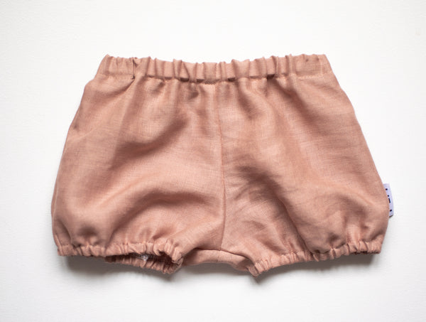 Blush Linen Bloomers