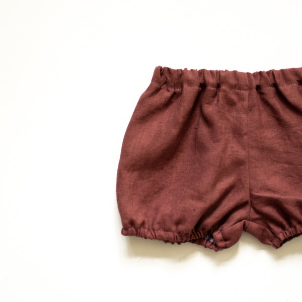 Maple Linen Bloomers - Sizes NB & 3-6m