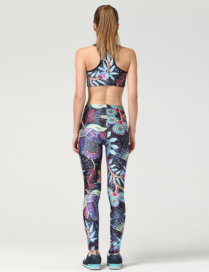 "Flower Sports Suit With ""Plus Sizes"" Available"