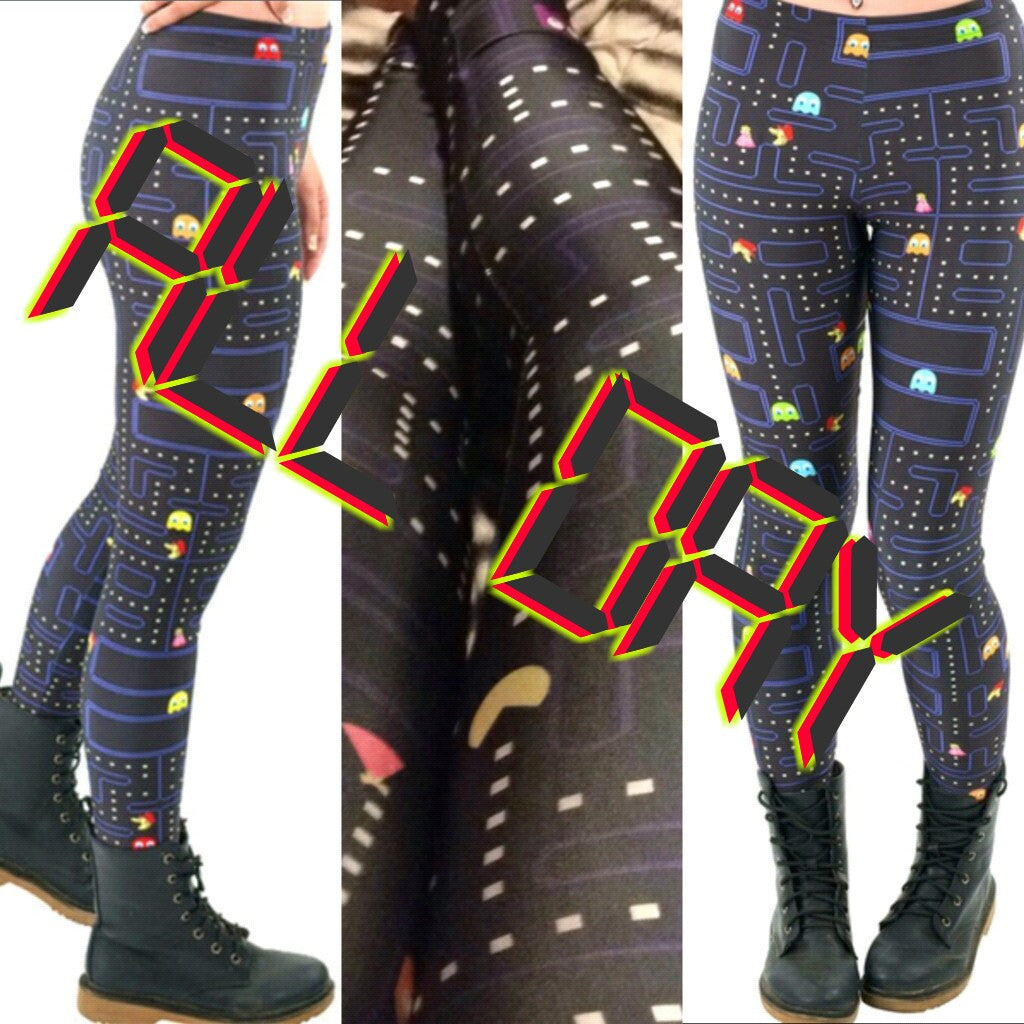Womens PAC-MAN Leggings