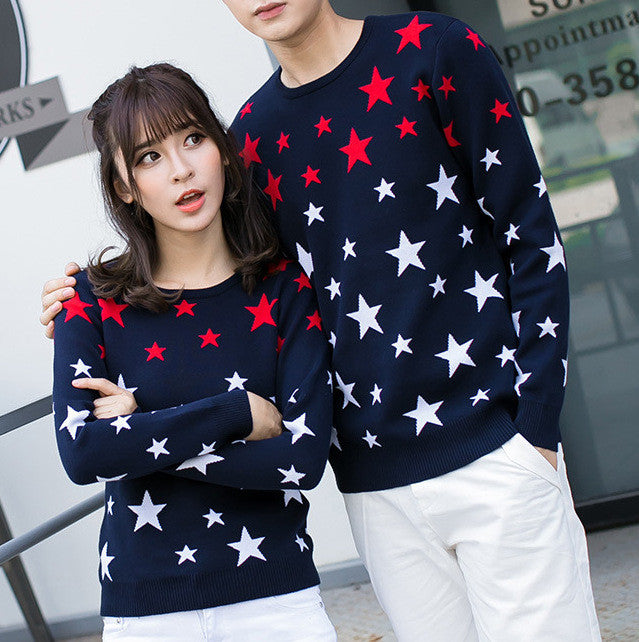 Couple's Star Sweater Set