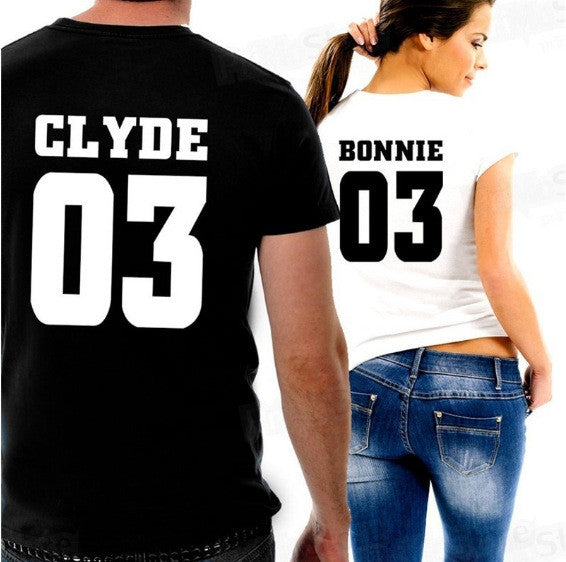 Bonnie & Clyde Couple Shirts 2